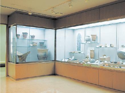埋蔵文化財展示コーナー