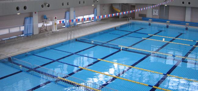大渡温水プール・トレーニングセンターメイン風景