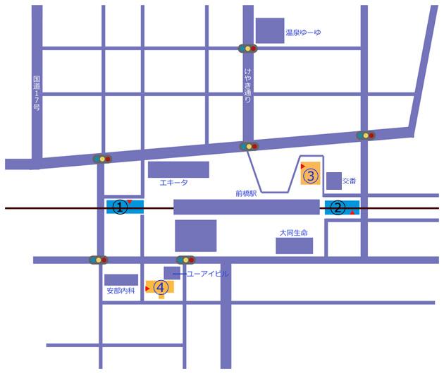 中心市街地地図