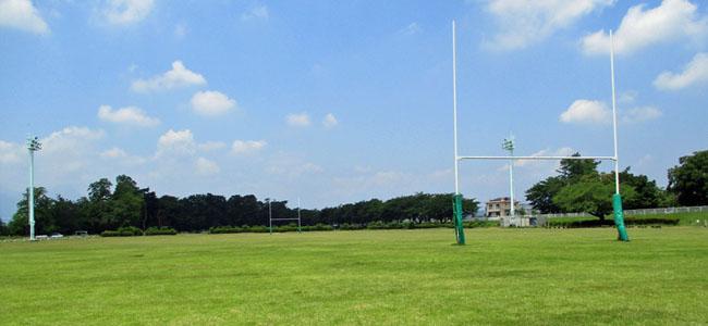 敷島緑地(ラグビー場)メイン風景