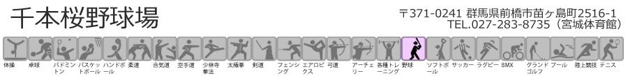 両毛運輸 千本桜野球場