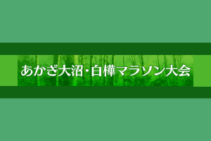 あかぎ大沼・白樺マラソン大会